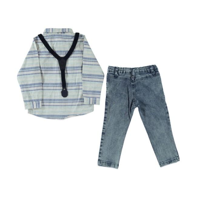 Παιδικό σετ Sermino navy blue