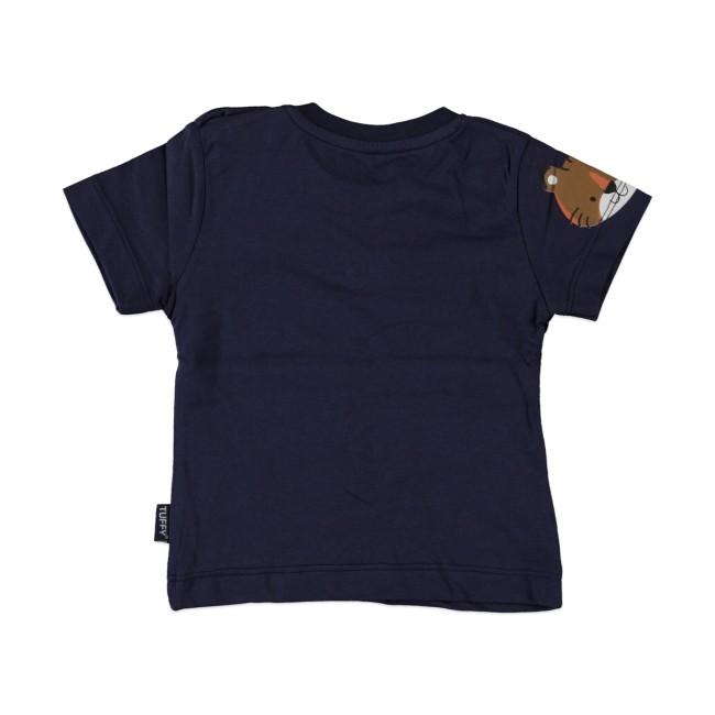 Βρεφική μπλούζα wild safari ναυτικό μπλε