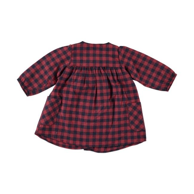 Παιδικό καρό φόρεμα