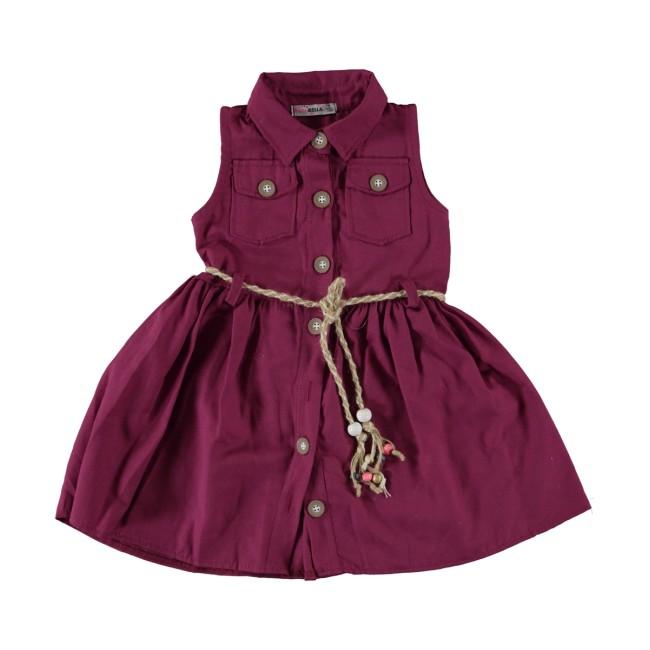 Δαμασκηνί φόρεμα esterella