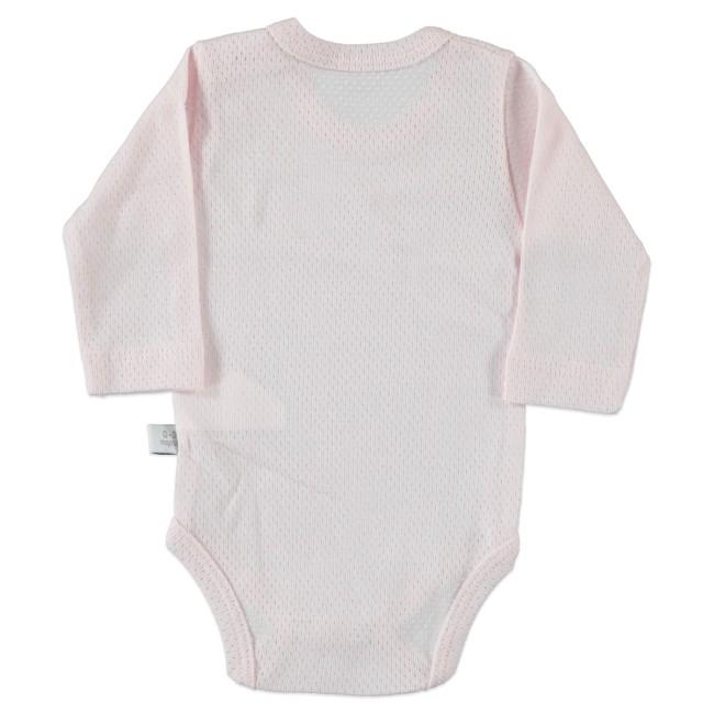 Unisex ροζ βρεφικό κορμάκι